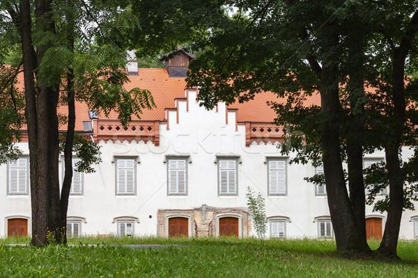 Novi Dvori Castle in Zapresic, Croatia Stock photo © gsermek