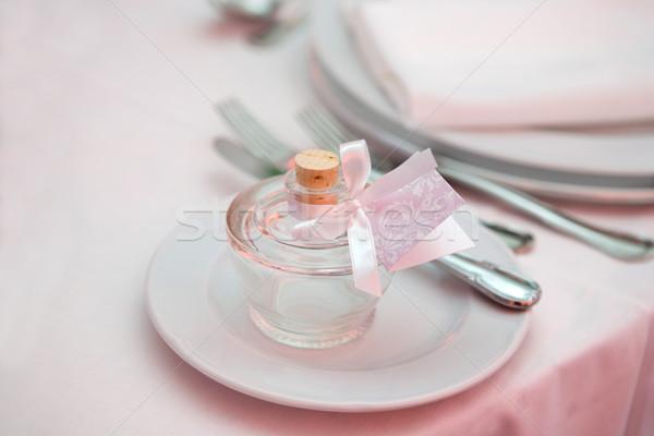Wedding dinner detail  Stock photo © gsermek