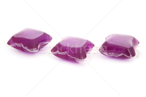 Gel capsules with laundry detergent Stock photo © gsermek