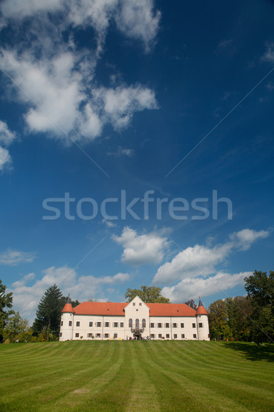 Luznica baroque manor located just 20 kilometers west of Zagreb, Stock photo © gsermek