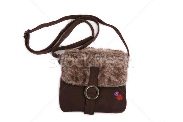 Baby purse made of fur Stock photo © gsermek