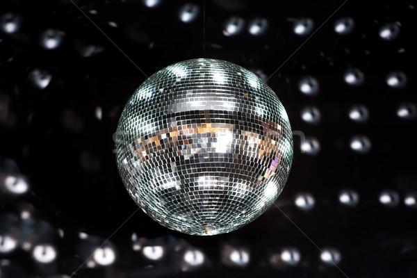Disco Ball ночном клубе музыку свет фон Сток-фото © gsermek