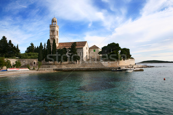 Franciscan Monestery in Hvar, Croatia  Stock photo © gsermek