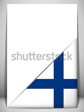 Finlandia banderą smartphone aplikacja placu przyciski Zdjęcia stock © gubh83