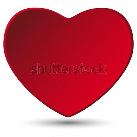 Valentin nap nap szív fehér vektor esküvő Stock fotó © gubh83