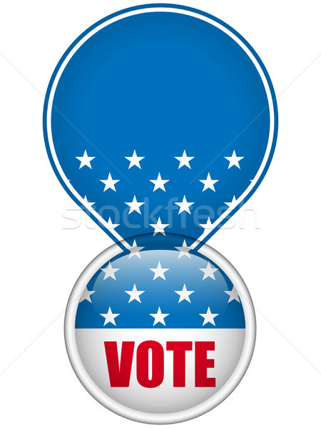 United States Election Vote Button. Stock photo © gubh83