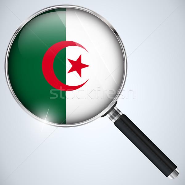 USA overheid spion programma land Algerije Stockfoto © gubh83