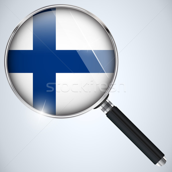 NSA USA Government Spy Program Country Finland Stock photo © gubh83