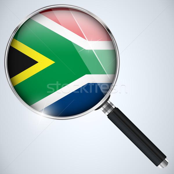EUA governo espião programa país África do Sul Foto stock © gubh83