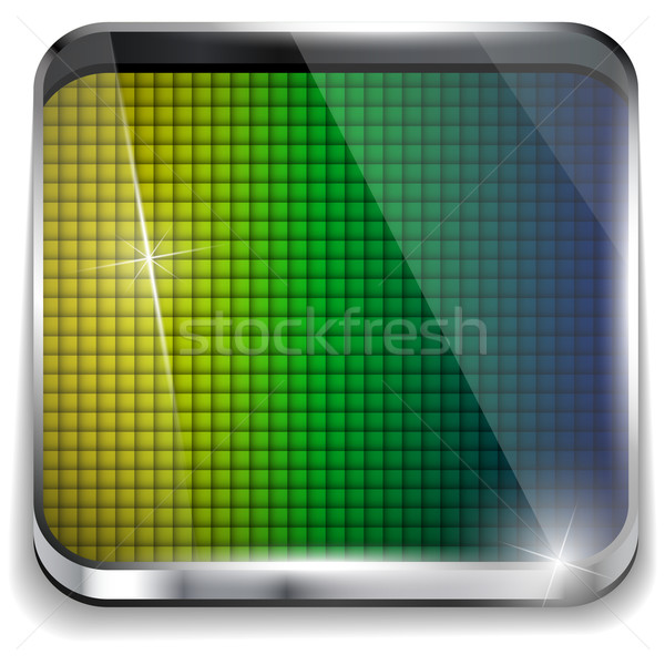 Brazylia banderą placu żółty zielone niebieski Zdjęcia stock © gubh83