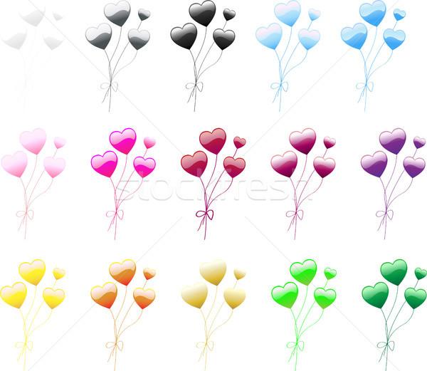 Heart Balloon Stock photo © gubh83