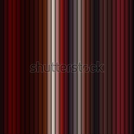 Piros csík végtelenített vektor papír fekete Stock fotó © gubh83