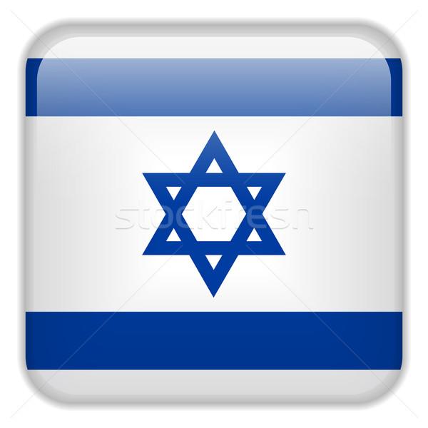 Israele bandiera smartphone applicazione piazza pulsanti Foto d'archivio © gubh83