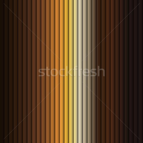 Vector - Seamless Background Pattern Brow Stripe Yellow Vector Stock photo © gubh83