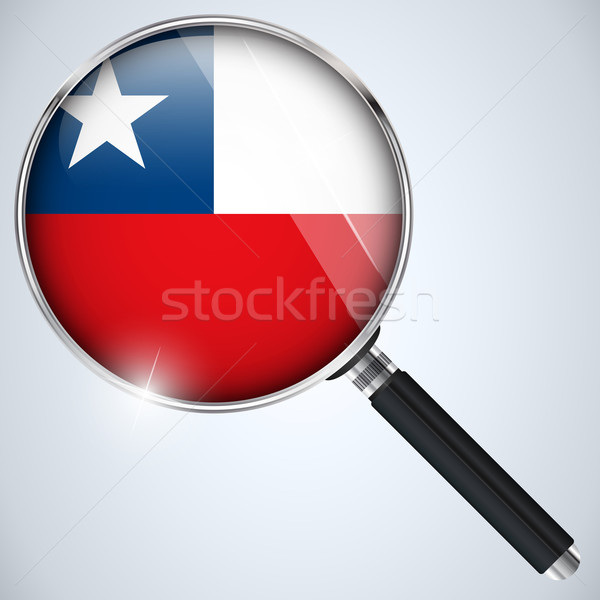 NSA USA Government Spy Program Country Chile Stock photo © gubh83