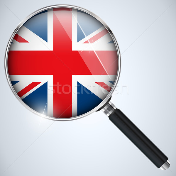 NSA USA Government Spy Program Country UK Stock photo © gubh83
