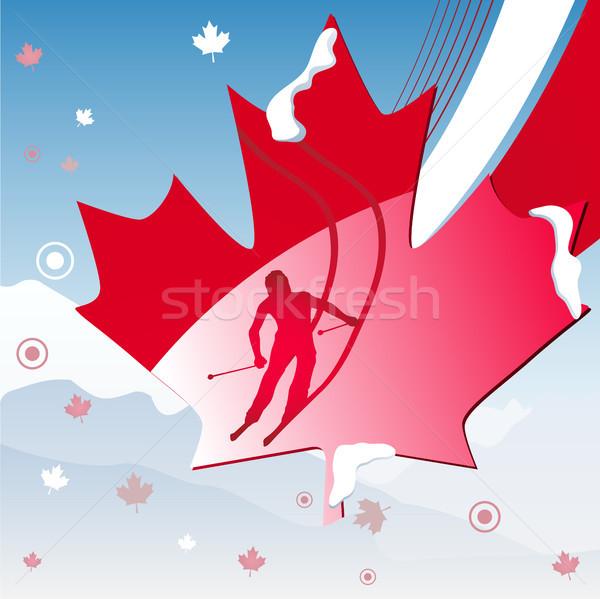 Canadá Vancouver inverno jogos 2010 Foto stock © gubh83