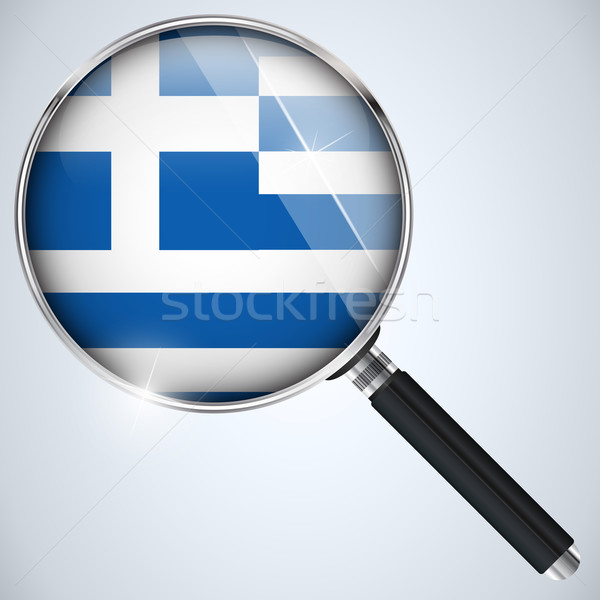 NSA USA Government Spy Program Country Greece Stock photo © gubh83