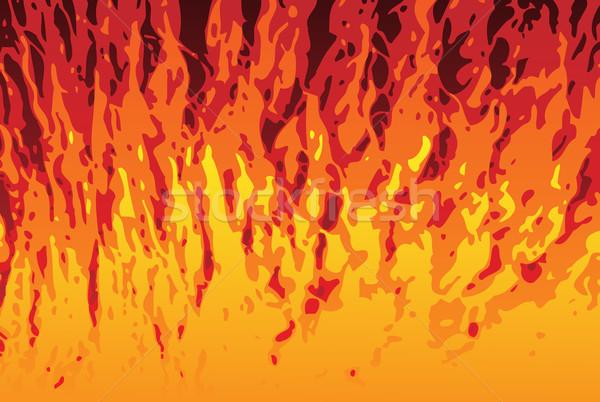 Flames Background Stock photo © gubh83