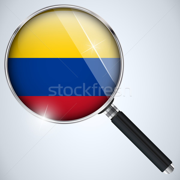 EUA governo espião programa país Colômbia Foto stock © gubh83
