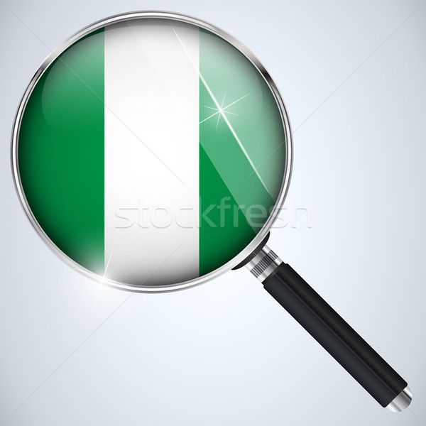 USA gouvernement espion programme pays Nigeria Photo stock © gubh83