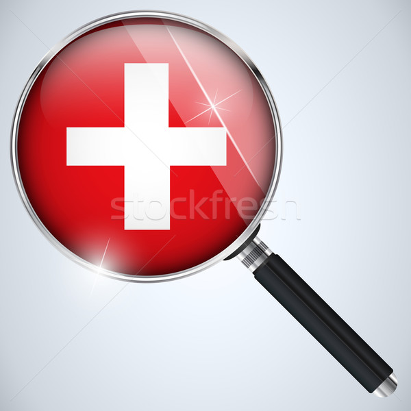 NSA USA Government Spy Program Country Switzerland Stock photo © gubh83