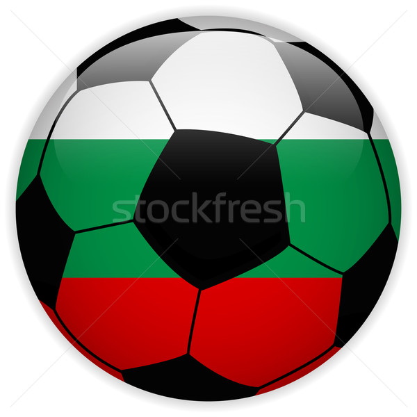 Bulgarie pavillon ballon vecteur monde football Photo stock © gubh83