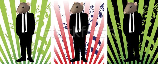 Rat in Suit Stock photo © gubh83