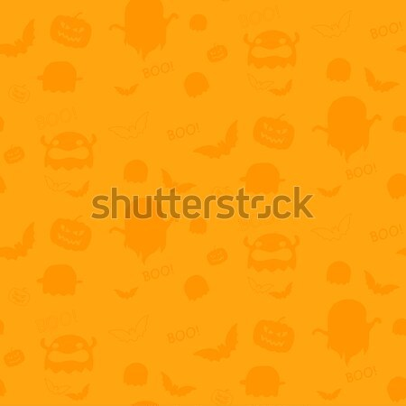 Feliz halloween fantasma bate icono textura Foto stock © gubh83