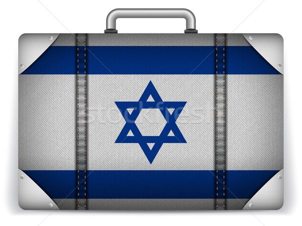 Израиль путешествия Камера флаг отпуск вектора Сток-фото © gubh83