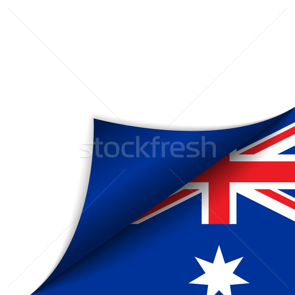 Austrália país bandeira página vetor assinar Foto stock © gubh83