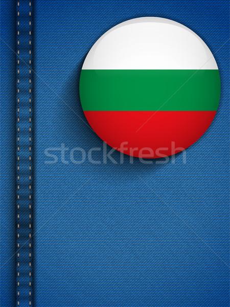 Bulgaria Flag Button in Jeans Pocket Stock photo © gubh83