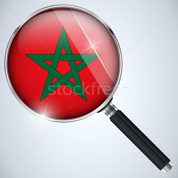 USA kormány kém program vidék Marokkó Stock fotó © gubh83