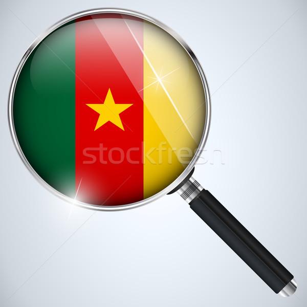NSA USA Government Spy Program Country Cameroon Stock photo © gubh83