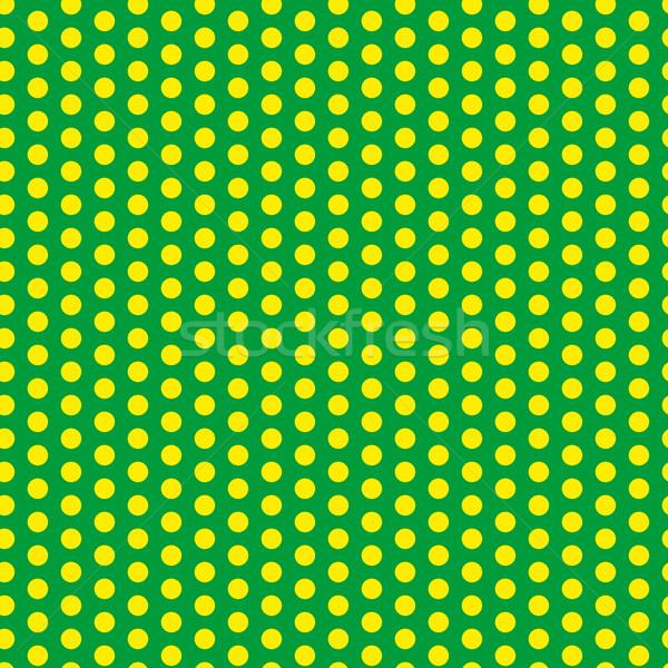 Brazilië 2014 naadloos groene Geel vector Stockfoto © gubh83