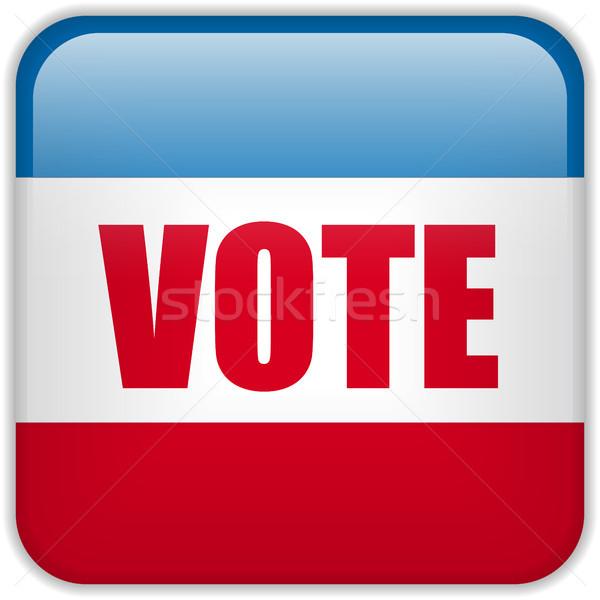 United States Election Vote Button. Stock photo © gubh83