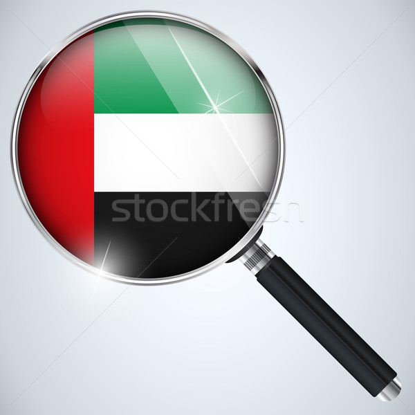 NSA USA Government Spy Program Country Emirates Stock photo © gubh83