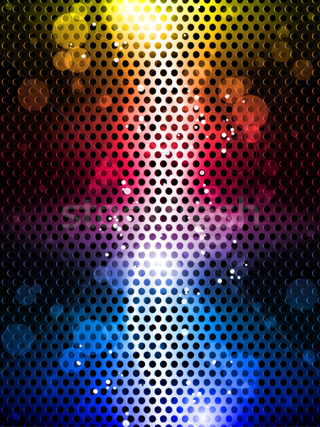 Colorful Rainbow Neon Party Background Stock photo © gubh83