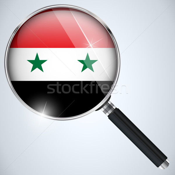 USA gouvernement espion programme pays Syrie Photo stock © gubh83