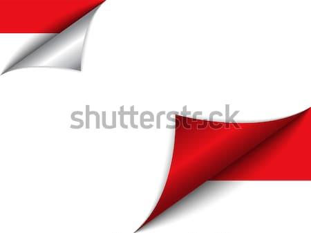 Монако стране флаг страница вектора знак Сток-фото © gubh83