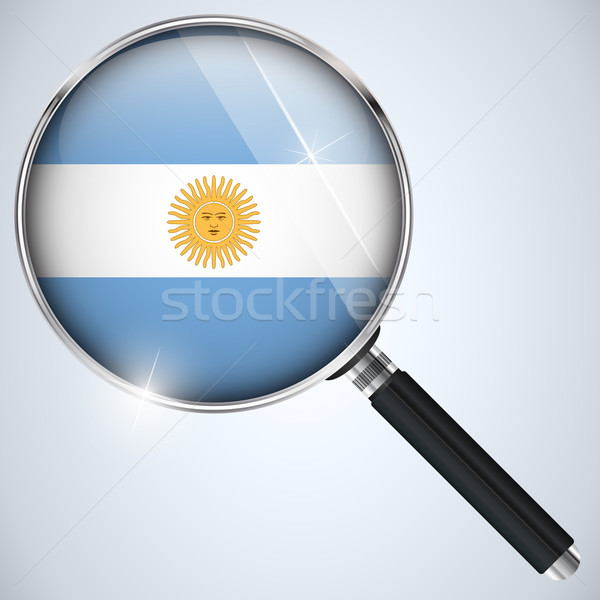 NSA USA Government Spy Program Country Argentina Stock photo © gubh83