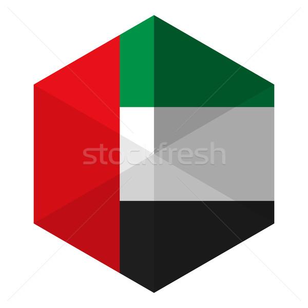 フラグ 六角形 アイコン ボタン 世界 背景 ストックフォト © gubh83