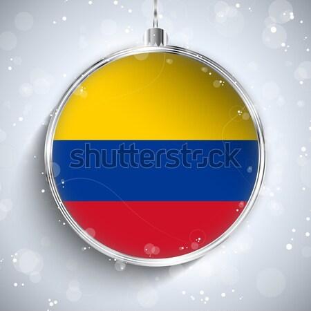 Homossexual bandeira alegre natal bola vetor Foto stock © gubh83