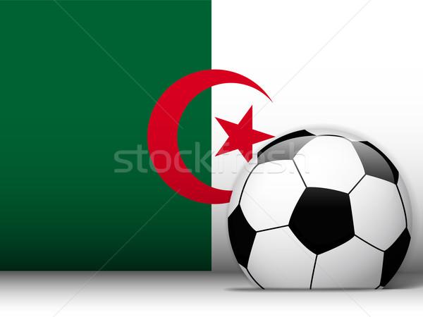 Algérie ballon pavillon vecteur design monde Photo stock © gubh83