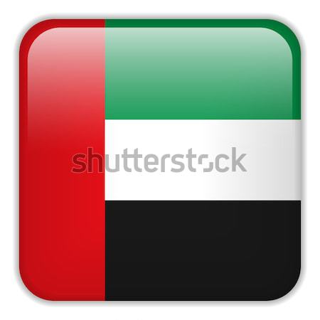 Emirates Flag Smartphone Application Square Buttons Stock photo © gubh83