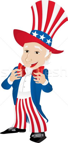 Tío Estados Unidos América diseno pelo Foto stock © gubh83