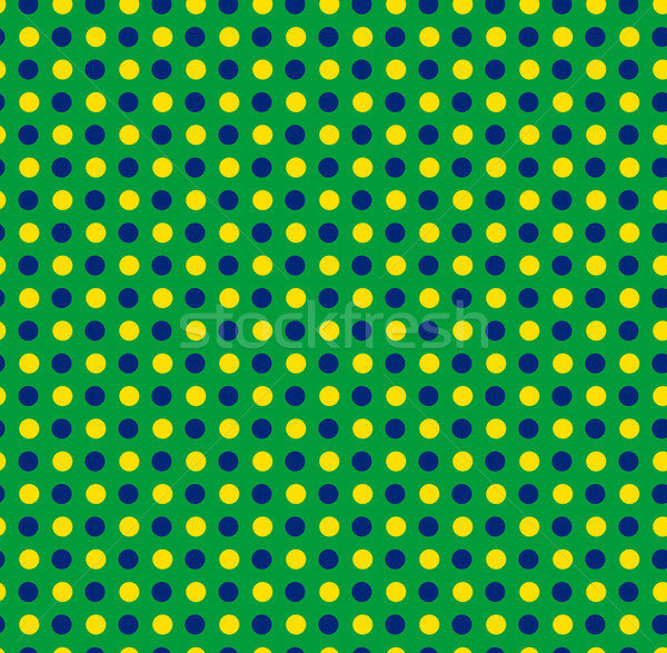 Бразилия 2014 бесшовный зеленый желтый синий Сток-фото © gubh83
