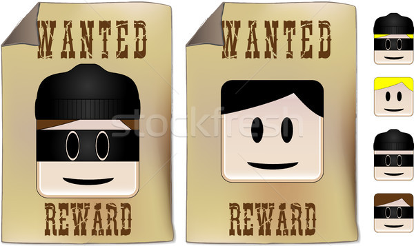 Wanted Sign Stock photo © gubh83