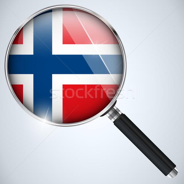 USA governo spy programma paese Norvegia Foto d'archivio © gubh83
