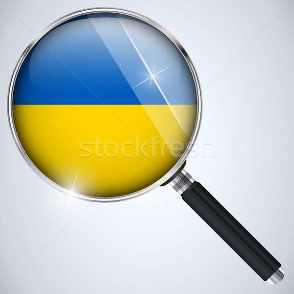 NSA USA Government Spy Program Country Ukraine Stock photo © gubh83